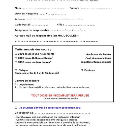 Fiche Inscription SMC